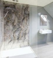 Linda Barker Collection - Alcove Kit D for three wall shower recess
